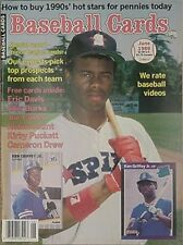 1989 BASEBALL CARDS MAGAZINE PRICE GUIDE (KEN GRIFFEY JR. CVR