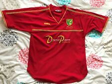 Norwich City FC Kit - 2001-2003 Away Shirt - Xara- Digital Photo - NCFC - COYY