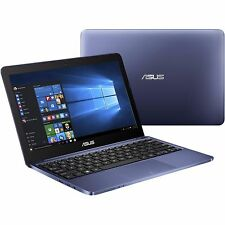 "New ASUS X205TA-HATM1102M 11.6"" Intel Atom 2GB Memory 32GB HD Windows 10 Blue"