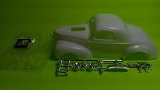 1941 willys street rod 1/25 body hood glass chrome grille grill shell model car