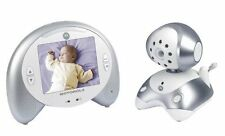"Motorola MBP35 Digital Video Baby Monitor 3.5"" LCD Pantalla nanas * Rayado *"