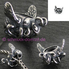 TROLLBEADS Silber Stopper / Spacer Hummel / Bumblebee - TAGBE-40088