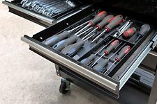 """Screwdriver Organizer Box Store Tool Sorter Tray Compact Chest Drawers 13"""" x 10"""""""