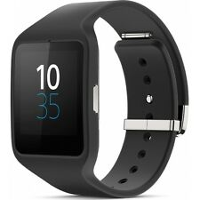 Sony SMARTWATCH 3 swr50 BLACK NERO ANDROID WATERPROOF Sportuhr senza contratto