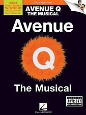 Avenue Q - The Musical - Vocal Selections-ExLibrary