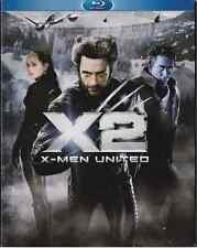 X-MEN UNITED X2 BLU-RAY DISC 2 DISC SET FULL SCREEN 2003 X 2 DVD