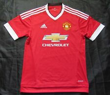 MANCHESTER UNITED Home shirt by ADIDAS 2015-2016 /men/red/NEW/ M