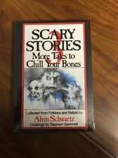 3 Book Set: SCARY STORIES to Tell in the Dark 1, 2 & 3 by Alvin Schwartz