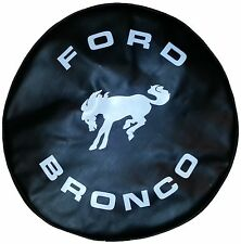SpareCover® ABC Series - FORD BRONCO 32 BLACK Heavy Duty Vinyl Tire Cover