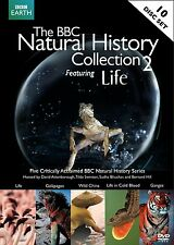 The BBC Natural History Collection 2 Featuring Life DVD 2010 10-Disc Set NEW