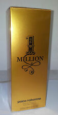Paco Rabanne 1 One Million EDT 200ml Eau de Toilette Vapo Homme NEUF BLISTER