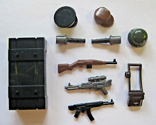 Brickforge WW2 German WEAPONS CRATE for Lego Minifigures Army Military