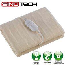 Termo coperta elettrica singola 1 piazza scalda letto materasso termico