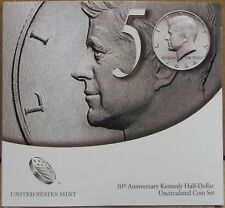 2014 P & D 50th Anniversary Kennedy Half-Dollar Uncirculated Coin Set