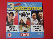 3 MORE CLASSIC SITCOMS BIRDS OF A FEATHER MEN BEHAVING BADLY NEVER THE TWAIN DVD