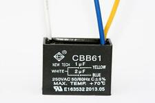 CEILING FAN CAPACITOR CBB61 1uf+2uf 3 WIRE
