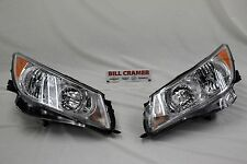 2010-2013 Buick LaCrosse OEM Left & Right Headlamps NEW Front Headlights