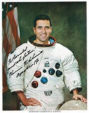 HARRISON SCHMITT  SIGNED  PHOTO NASA LITHO AUTOGRAPHED  JSA Y92619