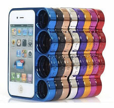 IPhone 4 4s Knuckle Housse Case Cover poing américain de protection anti-chocs tous les regards Bag