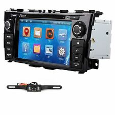 "8"" Multimedia Car Radio DVD Player GPS Navigation For Nissan Teana Altima 2013 C"