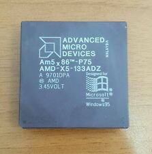 Processore CPU AMD Am5X86-P75 MicroProcessor AMD-X5-133ADZ 133MHz 16 Kb