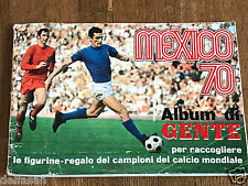 Album figurine MEXICO 70 COMPLETE sticker em wc wm panini 1970 europa munchen