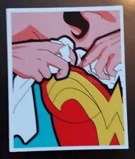 Super héros sticker wonder woman rembourrage soutien-gorge portable guitare halloween 335