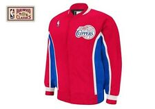 LOS ANGELES CLIPPERS Mitchell & Ness NBA Authentic Warmup Jacket Sz 52