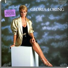 Gloria Loring - Gloria Loring - New 1986 Atlantic LP Record! Friends & Lovers