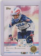 2012 TOPPS OLYMPIC DONNY ROBINSON BMX GOLD CARD #79 ~ MULTIPLES
