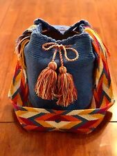 Large Wayuu Mochila Shoulder Bag/Authentic Handmade Colombian Tote (New)