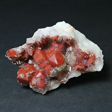 HEMATITE INCLUDED QUARTZ, EXCELLENT DISPLAY!! from ORANGE RIVER, NAMIBIA. #2715