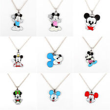 9X Set Mickey Mouse Pendant Necklace Girl Kid Birthday Party Bag Favor Gift
