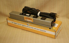 NEW USA SGL WABER OUTLET POWER STRIP SURFACE SCREW MOUNT TEST BENCH WORK TOOL