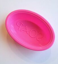 New! 3 PCS Hand Made Silicone Soap Mold Set Ice Molds Making Oval