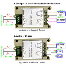 DC Motor Linear Actuator Switchable Wireless Remote Forward Reverse Controller