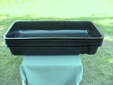 "New !!!  6 pcs  35 1/4"" Long x 15 1/4"" wide Hydroponic Growing Trays With Lids"