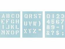 MILITARY STENCIL KIT WITH 1 INCH LETTERING