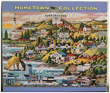 Heronim Hometown Collection Puzzle 1000 Piece CASTLE COUNTRY Cambria California