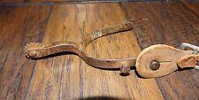 14445/ Vintage Old Western Cowboy Boot Spur   ~ Antique Spur