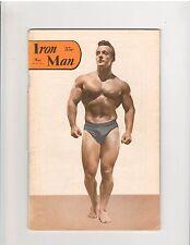 IronMan Bodybuilding muscle magazine/George Eiferman/Tommy Kono 5-53