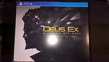 Deus Ex: Mankind Divided Collector's Edition (Sony PlayStation 4, 2016)