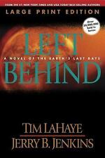 Left Behind (Large Print): A Novel of the Earth's Last Days