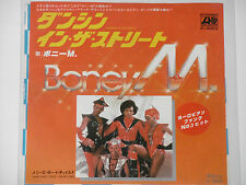 "BONEY M. -Dancing In The Streets- 7"" 45 Japan Pressung"