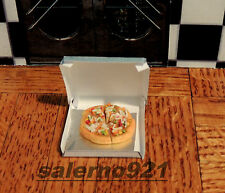 FRIDAY PIZZA NIGHT from ''VINNY'S PIZZA'' DOLLHOUSE DIORAMA 1:12 SCALE
