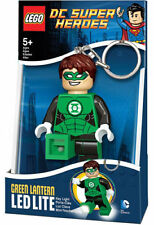 LEGO DC Super Heroes Green Lantern LED Torch Keychain NEW