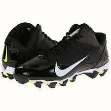 Nike Alpha Shark 3/4 Molded Football Cleats Style 642770-001 Size 10
