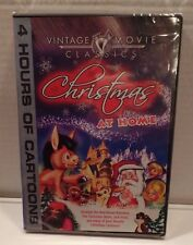 SEALED Christmas at Home DVD Movie Classic Cartoons Rudolph Jack Frost Burro