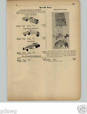 1951 PAPER AD Revell Toy Model Caterpillar Earth Mover Master Circus Wild Animal