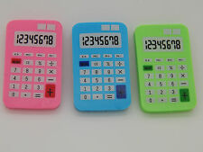 3 Calculator Shaped Erasers! Rubbers! Party Bag! Treat! Eraser! Novelty!